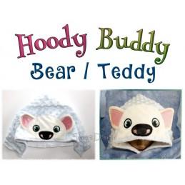 Hoody Buddy Bear - 5x7 inch