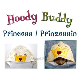 Hoody Buddy Pricess Crown - 5x7 inch