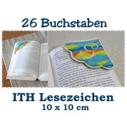 26 Corner Bookmarks ITH 4x4 inch