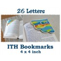 26 Corner Bookmarks ITH 4x4 inch