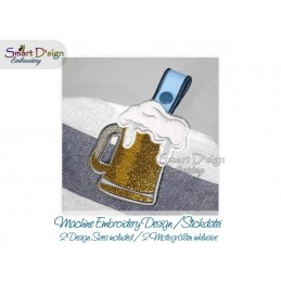 Towel Hanger BEER GLASS 2 Sizes