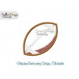 Applikation FOOTBALL 10x10 cm ITH Stickdatei