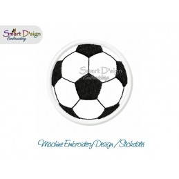 Applique SOCCER BALL 4x4 inch