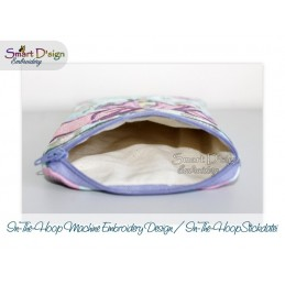 ITH 2x CELEBRATION BOW Cosmetic Zipper Bag 5x7 inch