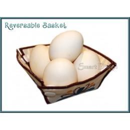 Brot- und Eier-Körbchen FRÜHSTÜCK ITH 13x18 cm