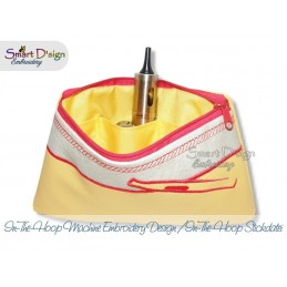 ITH E-Cigs Silhouette Cosmetic Bag w. Inside Pockets 3 Sizes
