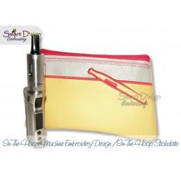 ITH E-Zigarette Silhouette Kosmetiktasche m. Innentasche 3 Größen
