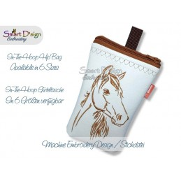 ITH Hip Bag HORSE Machine Embroidery Design