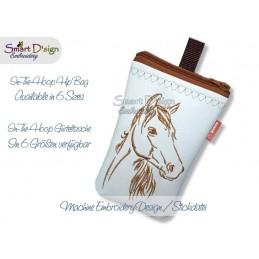 ITH Hip Bag HORSE Machine Embroidery Design