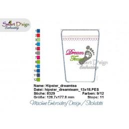 ITH Hip Bag DREAM TEAM Machine Embroidery Design