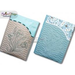 ITH Book Cover ROSE E-Book Machine Embroidery Design