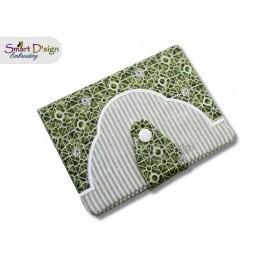 ITH Book Cover CURVE E-Book Machine Embroidery Design
