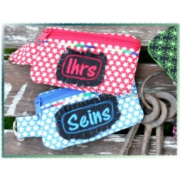 4 ITH Key Ring Wallets 4.7x2.75 inch