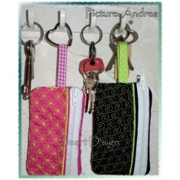 3 ITH Key Ring Wallets 4.7x2.75 inch