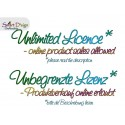 Unlimited Licence - 3x ITH Silhouette Zipper Bags 5x7 inch