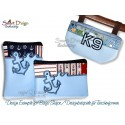 Limited Licence - 3x ITH Silhouette Zipper Bags 5x7 inch