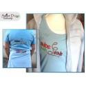ENDE DER LEINE 5x7 inch Machine Embroidery Design