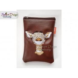 GIRAFFE 4x4 inch Machine Embroidery Design