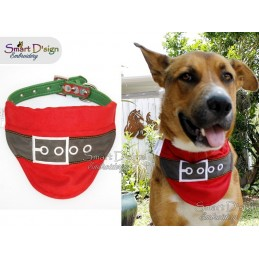 SANTA - ITH Dog Bandana - Please select ...