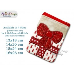 ITH Gift Bow Applique Bag - Please select Size