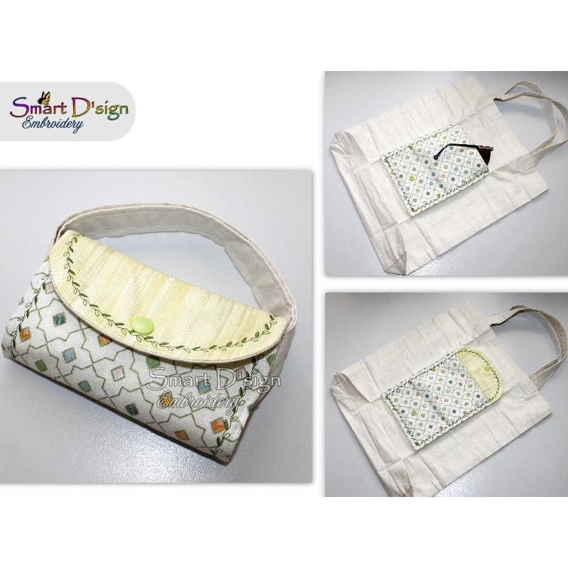 LEAFS Ann's Folding Tote with ITH Pocket - Please select Size