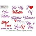 BLANK Valentine Teddy Cupcake ITH Machine Embroidery Design