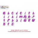 Annies ABC All Letters, Signs & Numbers max. 1.8 inch high