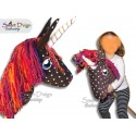 UNICORN Hobby Horse E-Book & Pattern with Embroidery Files