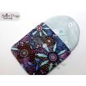 ITH Free Hand Wrist Purse Card Holder 5x7 inch Machine Embroidery Design