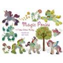 """Magic Ponies 11 Motifs 5x7"""""""