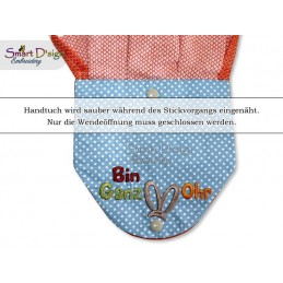 BIN GANZ OHR ITH Hanging Towel Topper, Machine Embroidery Design