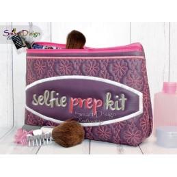 SELFIE PREP KIT - Kosmetiktasche ITH Stickdatei