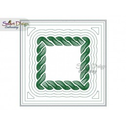 CELTIC KNOT 01 - ITH Quilt Block - Machine Embroidery Design
