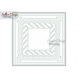 CELTIC KNOT 02 - ITH Quilt Block - Machine Embroidery Design