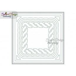 KELTISCHER KNOTEN 02 - ITH Quilt Block - Stickdatei