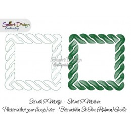 CELTIC KNOT Set of 2 Frames - Machine Embroidery Design