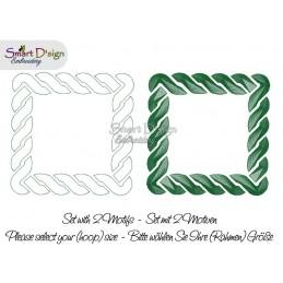 CELTIC KNOT Set of 2 Frames - Machine Embroidery Design