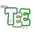 ITH TEE COSTER 13 cm Machine Embroidery Design