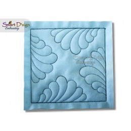 SCALLOP Nr. 1 ITH Quilt Block - Machine Embroidery Design
