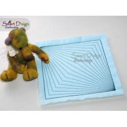 GEO PERSPEKTIVE 01 - ITH Quilt Block - Stickdatei