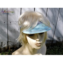 ITH BRIM for Sun Visor and Hat Projects 13x20 cm Machine Embroidery Design