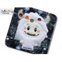 YETI Applique Machine Embroidery Design