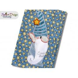 GNOME Tomte Nisse Applique Machine Embroidery Design
