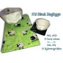 ITH MugRugs with Stipple Stitch 11 Hoop Sizes