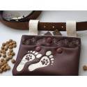 ITH BUM BAG DOG TREATS 5x7 inch Machine Embroidery Design