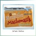 Mathematiker ITH Zipper Bag Fully Lined