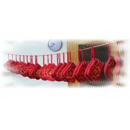 6 Santa Stockings ITH 5x7 inch + Calendar 4x4 inch