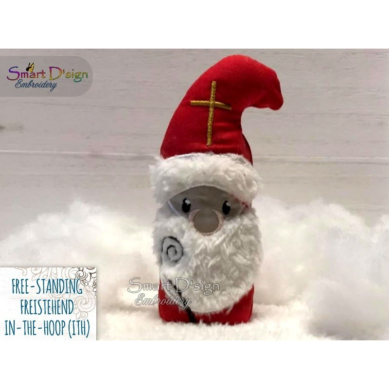 ITH Free-Standing SAINT NICHOLAS Machine Embroidery Design