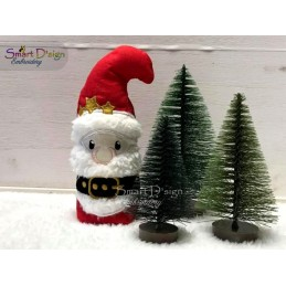 ITH Free-Standing SANTA CLAUS Machine Embroidery Design
