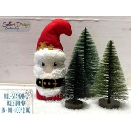ITH Free-Standing CHRISTMAS FRIENDS Machine Embroidery Design